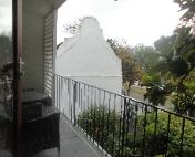 Stellenbosch accommodation balcony